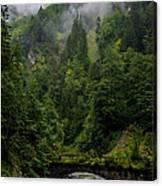 Old Bridge - Austrian Alps - Austria Canvas Print