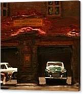 Old Brooklyn Garage Canvas Print