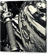 Old Bsa Cafe Racer Canvas Print