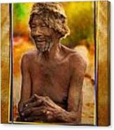 Old Bushman Canvas Print