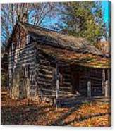 Old Cabin In The Woods Canvas Print