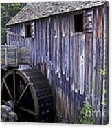 Old Cades Cove Mill Canvas Print
