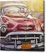 Old Cadillac Canvas Print