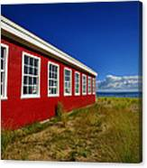 Old Cannery Building Canvas Print