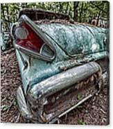 Old Car 3 Canvas Print