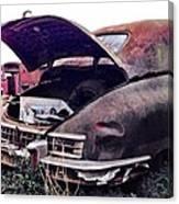 Old Car Canvas Print