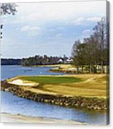 Old Carolina Golf Club Canvas Print