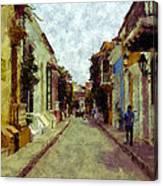 Old Cartagena 1 Canvas Print