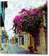 Old Cartagena 2 Canvas Print