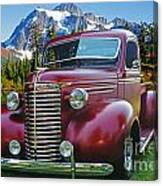 Old Chevy Pickup Ca5073-14 Canvas Print