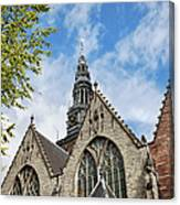 Old Church In Amsterdam Canvas Print