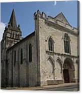 Old Church - Loire - France Canvas Print