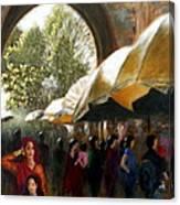 Old City Ahmedabad Series 7 Canvas Print