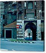 Old City Gate Vicenza 1962 Canvas Print