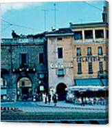 Old City Gate Vicenza 2 1962 Canvas Print
