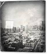 Old City Canvas Print