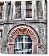 Old City Jail Entrance Canvas Print