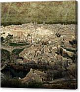 Old City Of Toledo Canvas Print