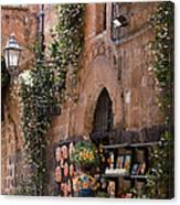 Old City Shop Canvas Print