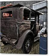 Old Classic Car Canvas Print