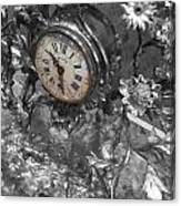 Old Clock Canvas Print