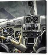 Old Cockpit Canvas Print