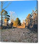 Old Conyers Cemetery Canvas Print