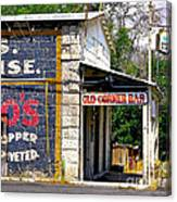 Old Corner Bar - Dayton - Nevada Canvas Print