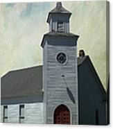 Old Country Church Canvas Print