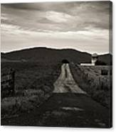 Old Country Roads Canvas Print