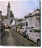 Old Damascus . Bab Sharqi Canvas Print