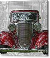 Old Desoto Canvas Print