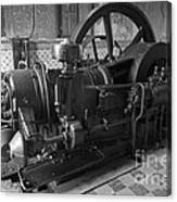 Old Diesel Motor Mexico Canvas Print