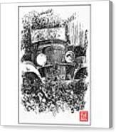 Old Dodge Truck V Canvas Print