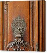 Old Door Knocker Canvas Print