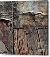 Old Door Textures Canvas Print