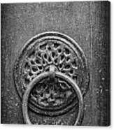 Old Doorknocker Canvas Print
