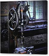 Old Drill Press Canvas Print