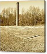 Old Faithful Smoke Stack Canvas Print
