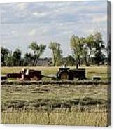 Old Farm Hand Canvas Print