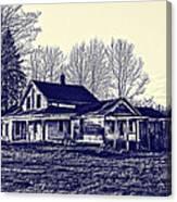Old Farm House Canvas Print