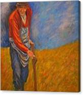 Old Farmer Michel Canvas Print