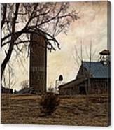 Old Farmstead  Canvas Print
