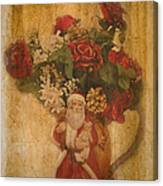 Old Fashioned St Nick Canvas Print