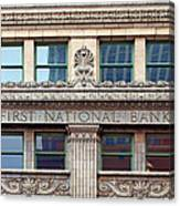 Old First National Bank - Building - Omaha Canvas Print