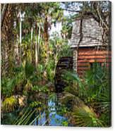 Old Florida Watermill I Canvas Print