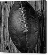Old Football Canvas Print