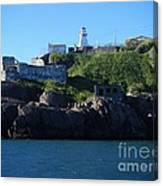 Old Fort Amherst By Barbara Griffin Canvas Print