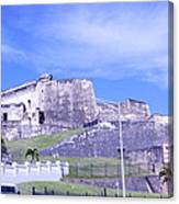 Old Fort Canvas Print