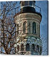 Old Fort Niagara Lighthouse 4484 Canvas Print